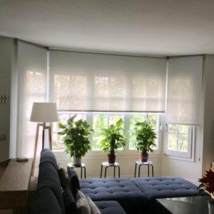cortina enrollable
