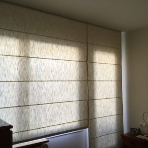 cortina plegable