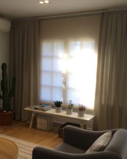 cortinas a tablas