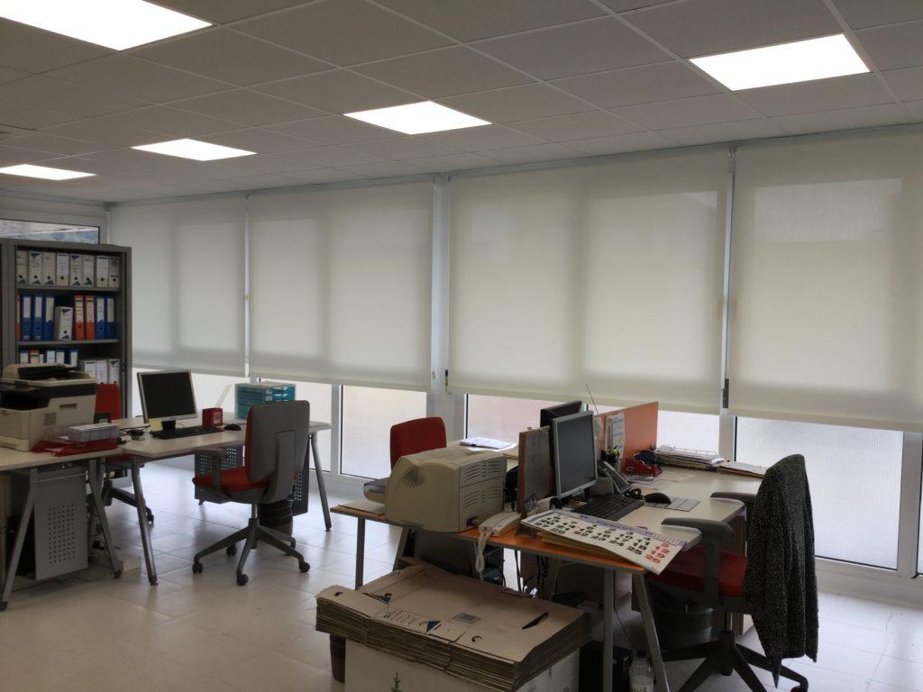 Cortinas para oficina tienda de cortinas y estores en - Cortinas para oficinas ...